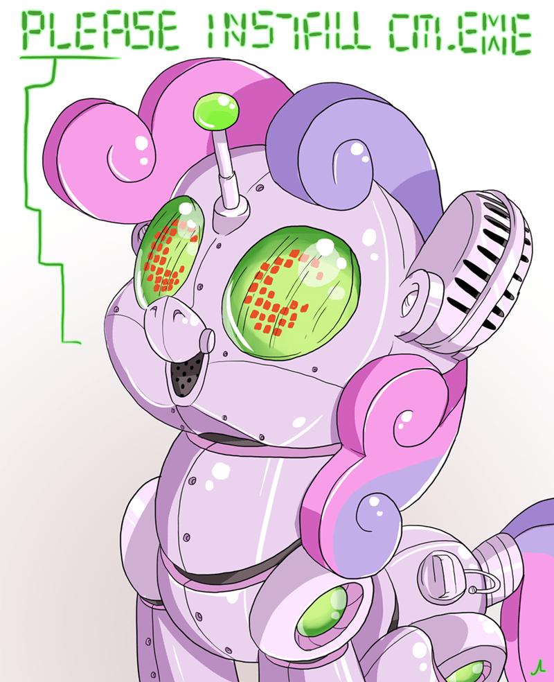 Sweetie Belle,sweetie bot