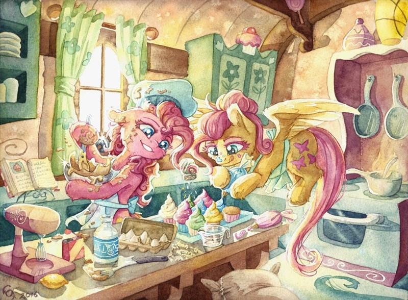 pinkie pie,fluttershy