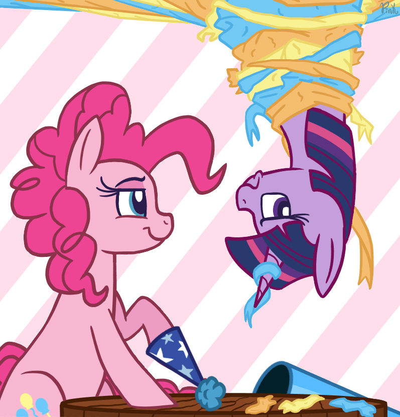 twilight sparkle,pinkie pie