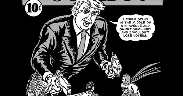 Real Life Superhero Added Trump Quotes To Famous Comic Book