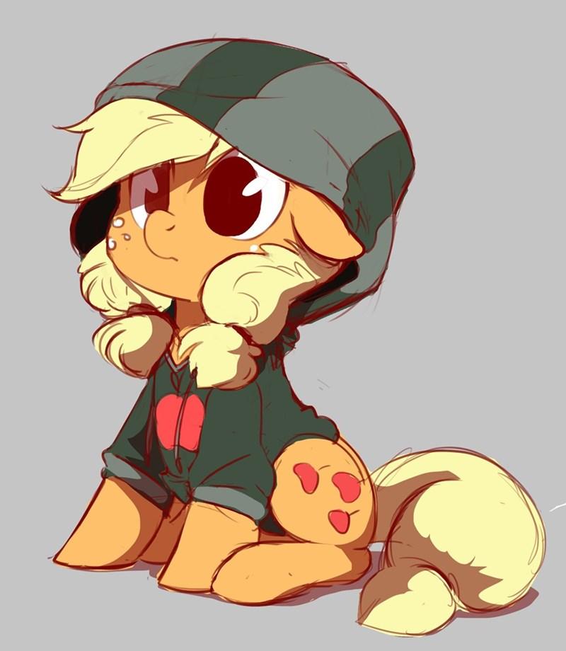 applejack,hoodie