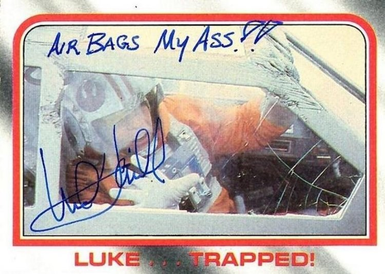 Signature - AR BAGS My Ass LUKE TRAPPED!
