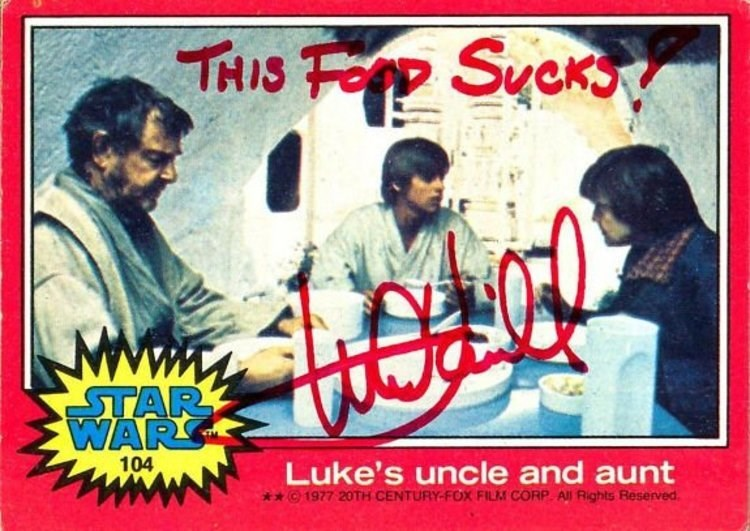 Poster - THIS F Syeks MwwT ΤAΡ WARS 104 Luke's uncle and aunt 1977 20TH CENTURY-FOX FILM CORP All Rights Reserved