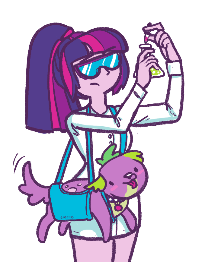 spike,equestria girls,twilight sparkle