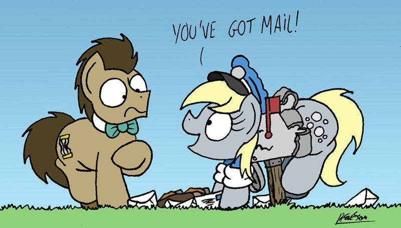doctor whooves derpy hooves - 9003435520