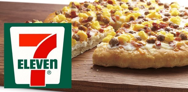 fail 7 eleven adding breakfast pizza