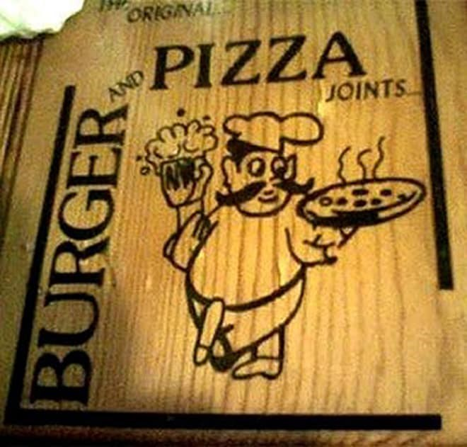 Illustration - ORIGINAL PIZZA AND JOINTS BURGER