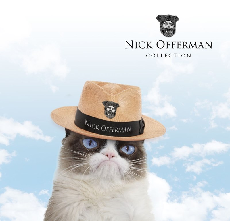 Cat - NICK OFFERMAN COLLECTION NICK OFFERMAN