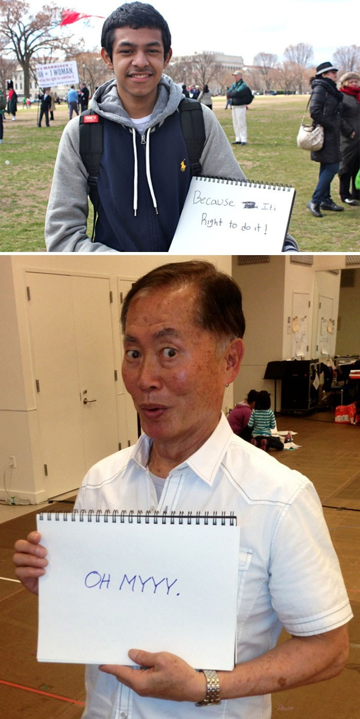 george takei - Recreation - +1WOMAN Because Right to do it OH MYYY