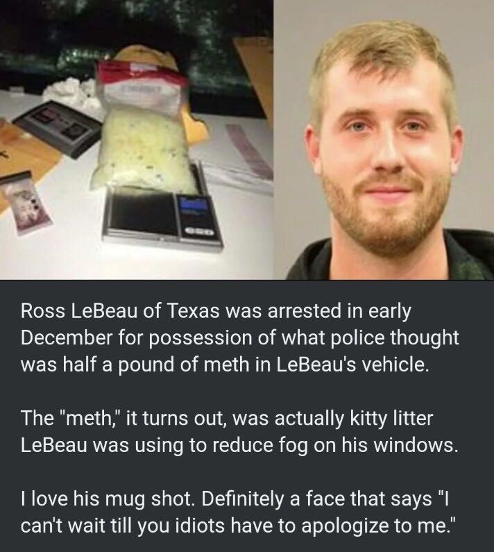 guy-gets-mugshot-for-being-caught-with-kitty-litter