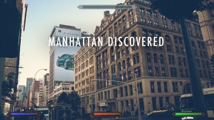 Metropolitan area - MANHATIAN DISCOVERED