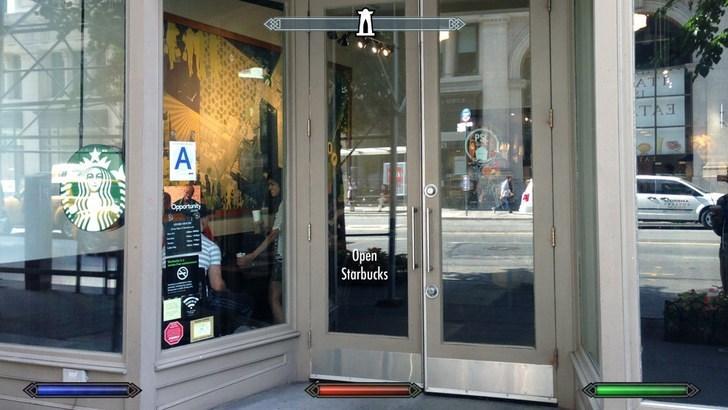 Door - AT TA A Opeontunity Open Starbucks