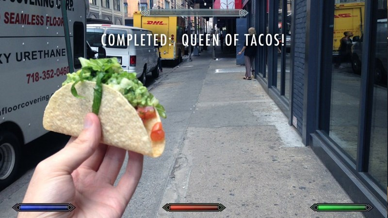 Food - SEAMLESS FLOOR DHL (OMPLETED QUEEN OF TACOS! Y URETHANE 718-352-0460 floorcovering