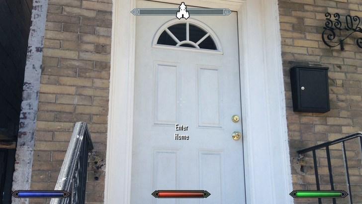 Door - 302 Enter Home