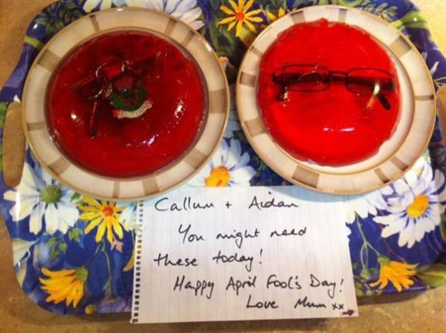 Food - Adan Callun + naLd these toolay Happy April Fools Bay Love Mum