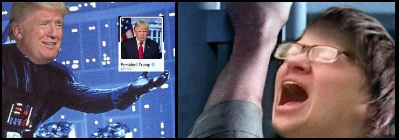 Selfie - President Trump rotus
