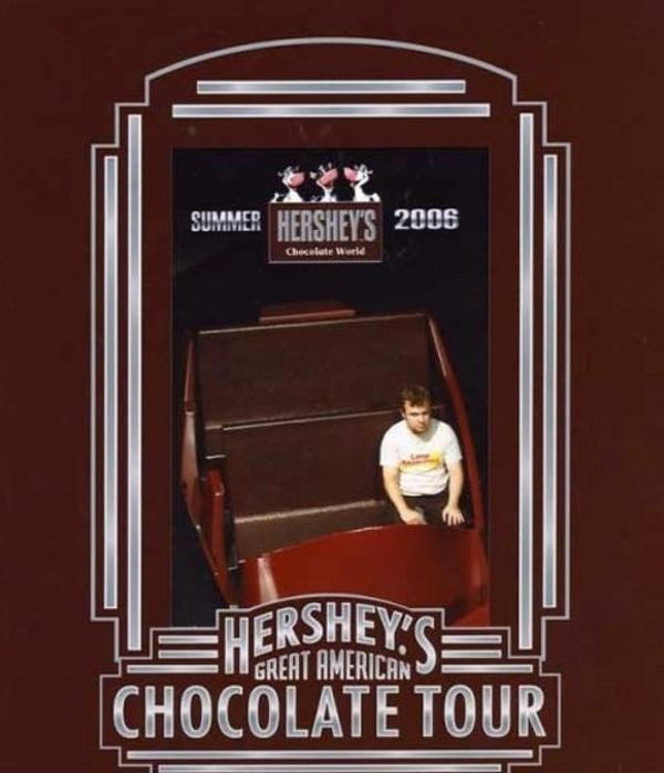 Poster - SUMMER HERSHEY'S 2005 L Checelate Worl HESHEYS GREAT AMERICAN CHOCOLATE TOUR