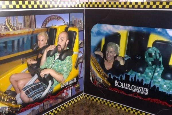 Yellow - ROTER COASTE ROLLER COASTER as 13 2013