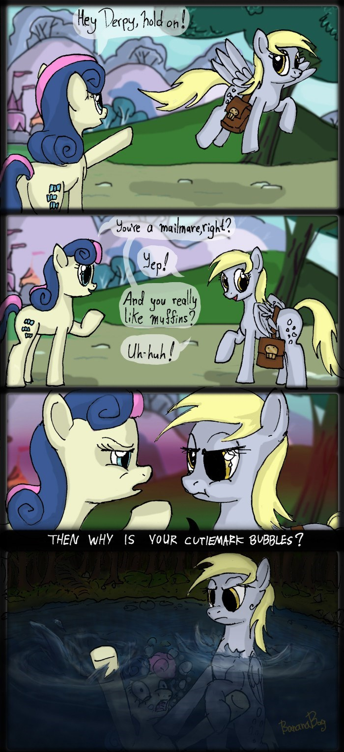 derpy hooves,comic,bon bon