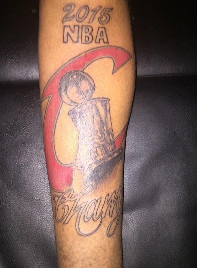 Tattoo - 2015 NBA