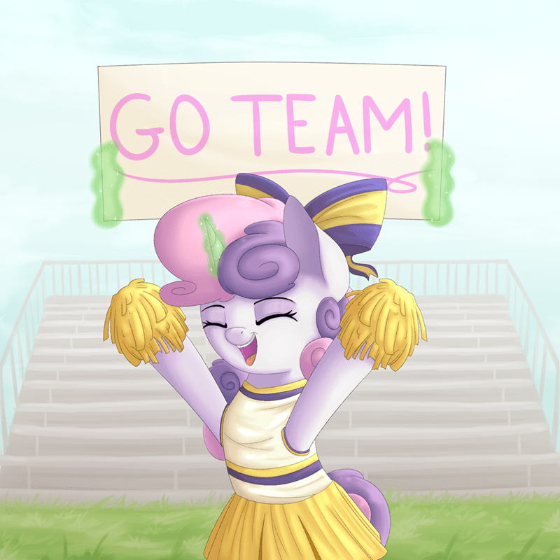 costume Sweetie Belle cheerleaders - 9005691648