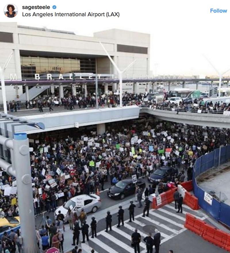 Product - sagesteele Los Angeles International Airport (LAX) Follow B
