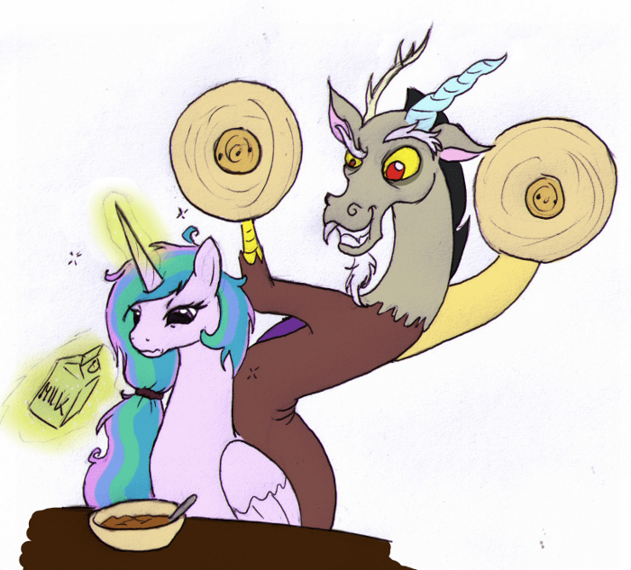 discord,this will end in tears,princess celestia