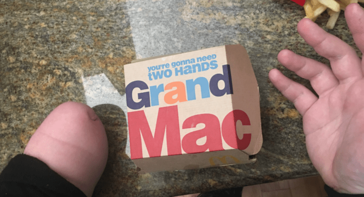 fail mcdonalds hands