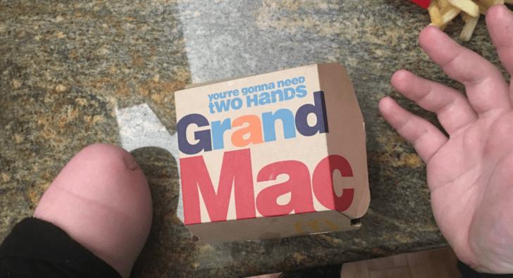 fail mcdonalds hands