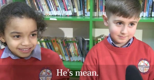 fail video irish kids donald trump
