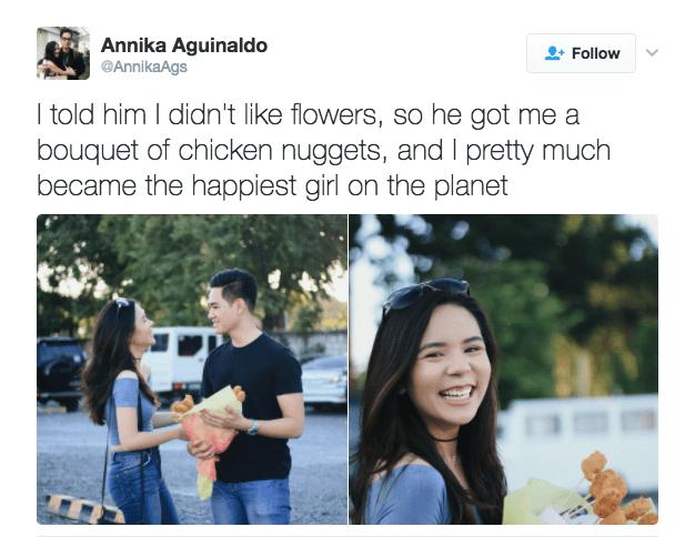 win edible arrangement chicken nuggets