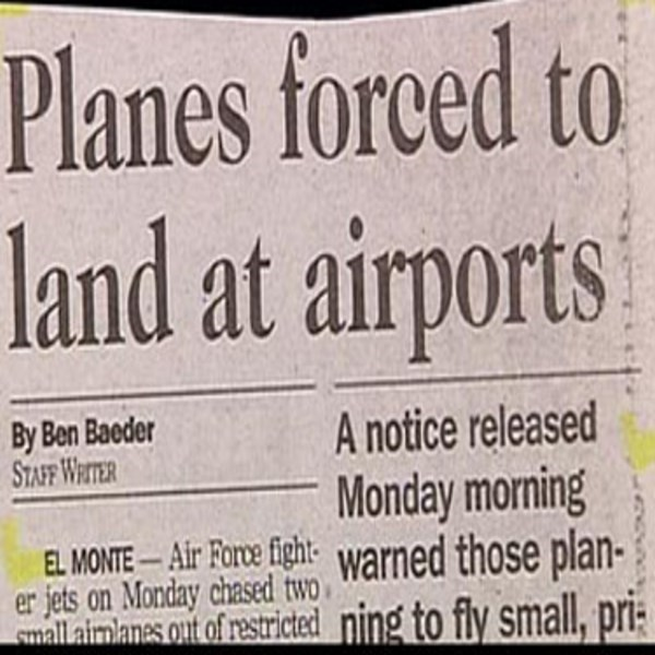 Font - Planes forced to land at airports By Ben Baeder STAFF WRITER A notice released Monday morning EL MONTE- Air Fore fight warned those plan- mallaimanes out of restricted ning to fly small, pri er jets on Monday chased two
