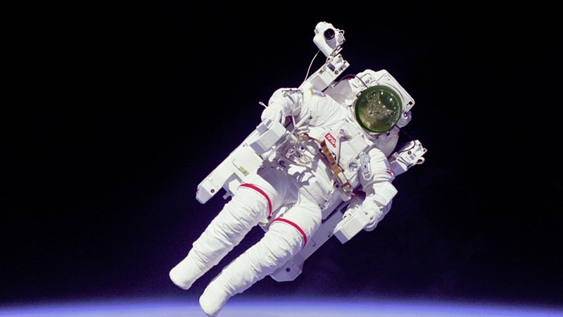 cat in backpack photoshop battle - Astronaut