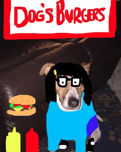 Cartoon - DOG's BURERS