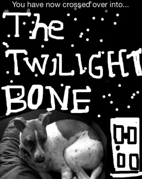 Text - You have now crossed over into.. The TWILIGH BONE. DO