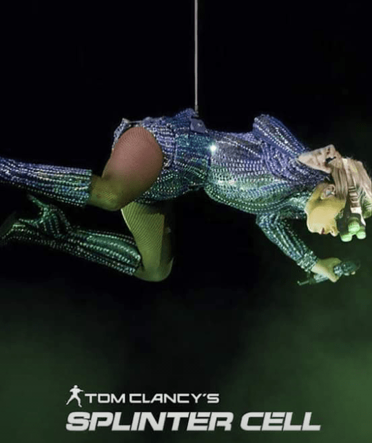 lady gaga Splinter Cell