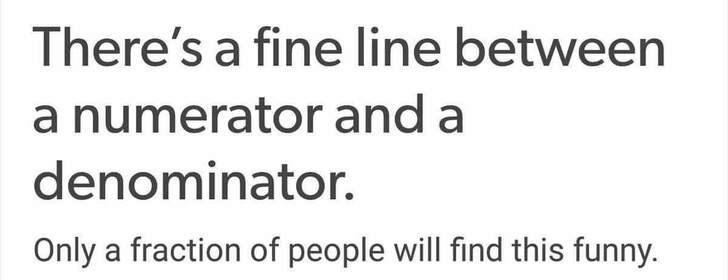 math meme about fractions