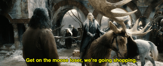 Horn - Get on the moose loser, we're going shopping