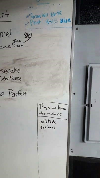 work meme - Text - ert Grun hi rie Point R Blue (Au Mel Ice uce Cream esecake der Sauce -e Parfot Theys S we attitake Sexines