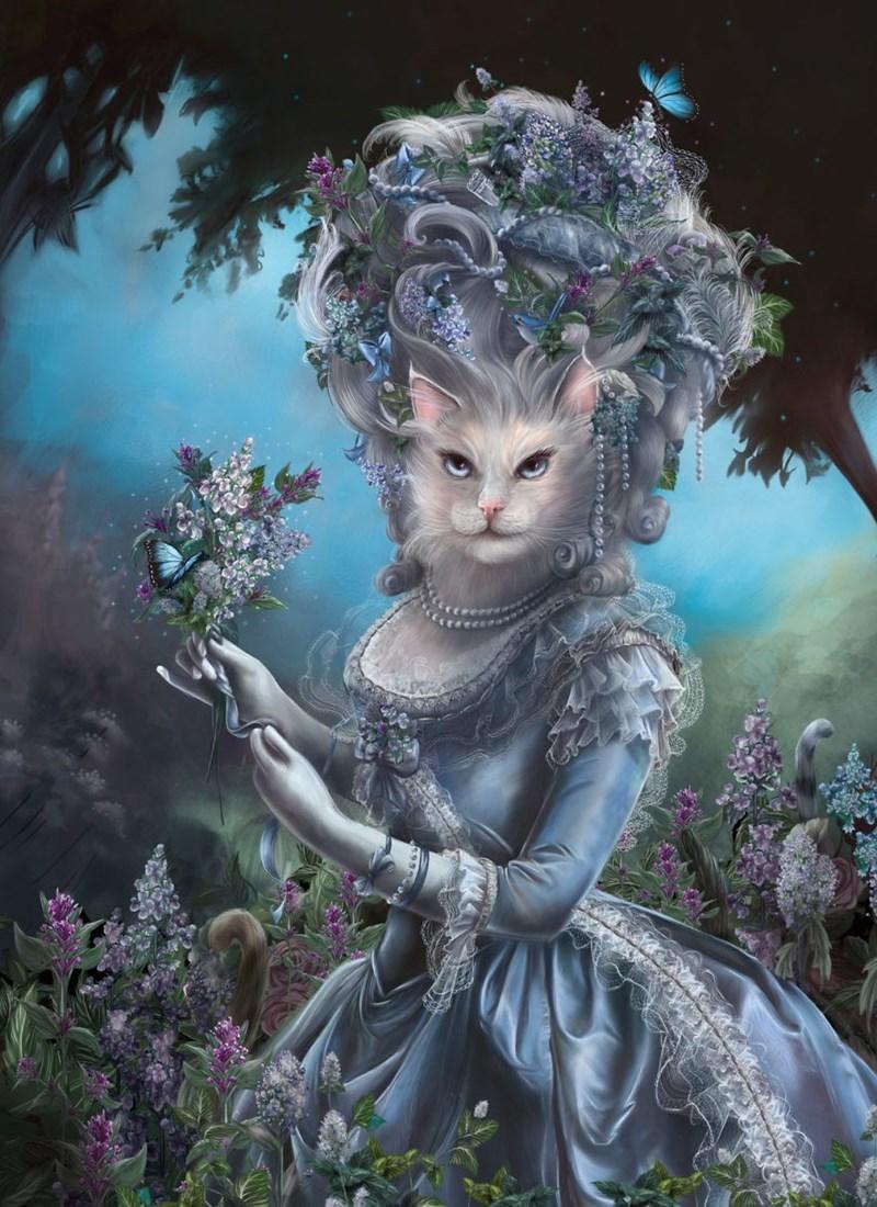 Elegant Cat - Cg artwork