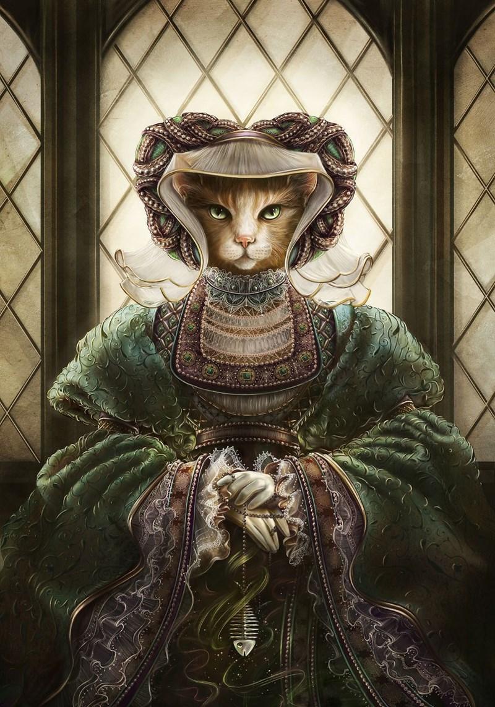 Elegant Cat - Lady