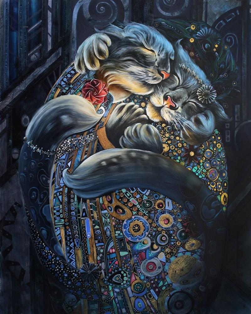 Elegant Cat - Art - 000000D