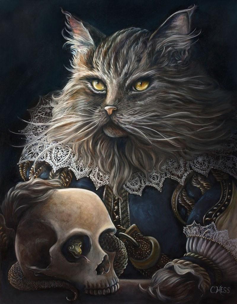 Elegant Cat - Cat - CHESS