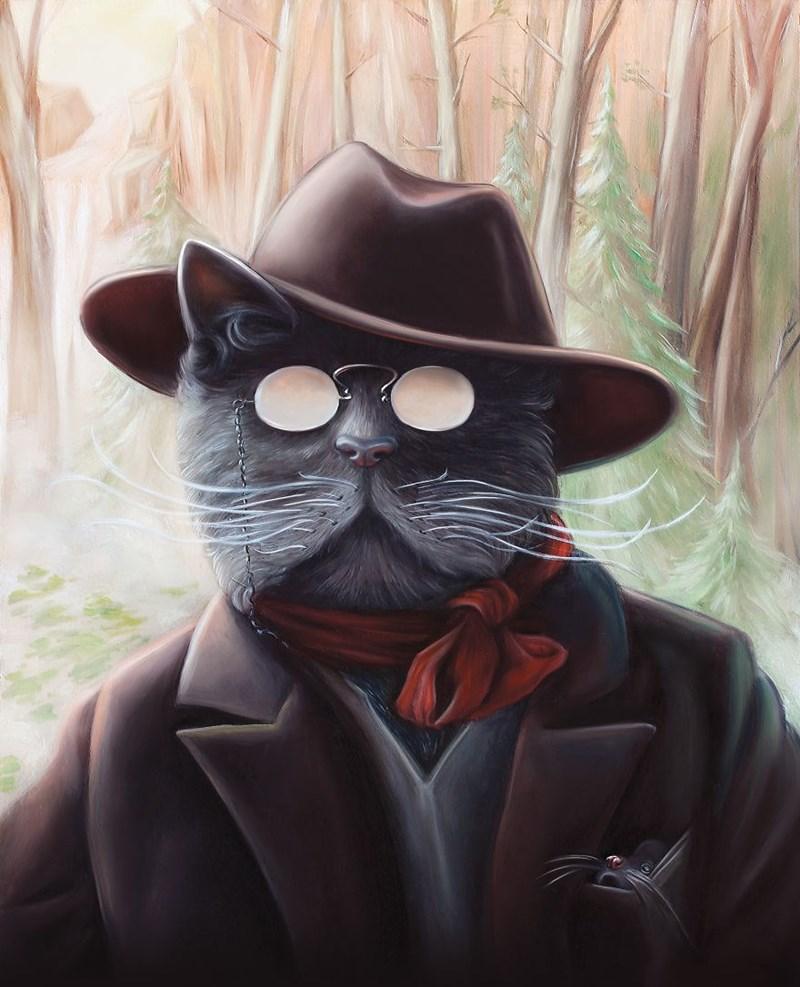 Elegant Cat - Cat