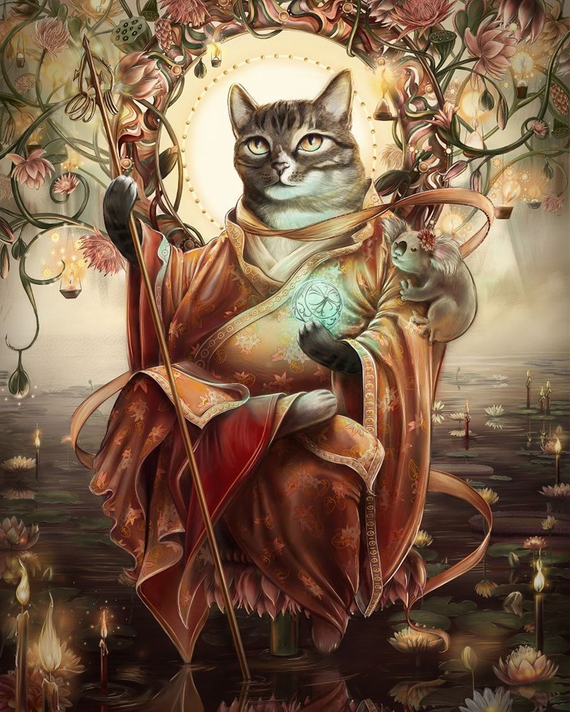 Elegant Cat - Cat - D-G HOYCAGOOOOIC1