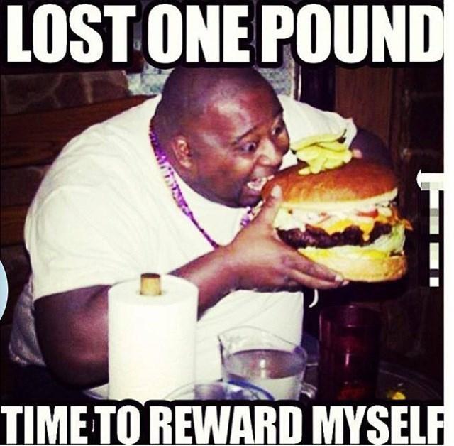 Junk food - LOST ONE POUND TIME TO REWARD MYSELF