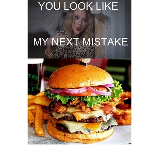 Junk food - YOU LOOK LIKE MY NEXT MISTAKE