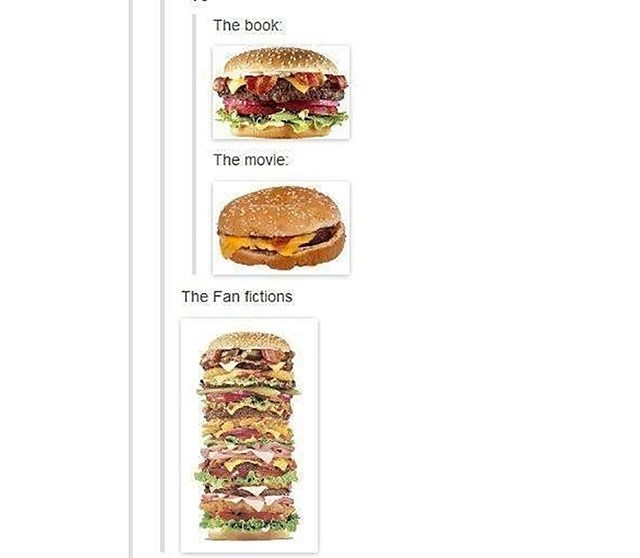 Food - The book: The movie: The Fan fictions