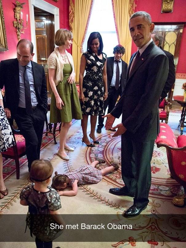 Event - OR ww She met Barack Obama
