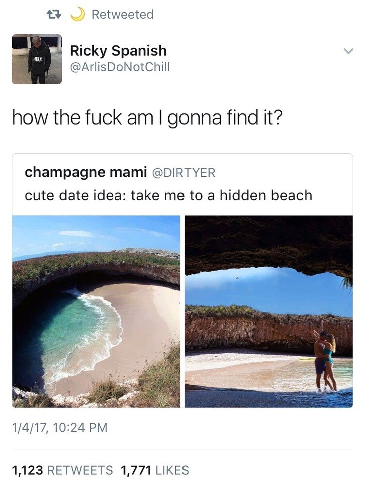 Water resources - Retweeted Ricky Spanish @ArlisDoNotChill how the fuck am I gonna find it? champagne mami @DIRTYER cute date idea: take me to a hidden beach 1/4/17, 10:24 PM 1,123 RETWEETS 1,771 LIKES